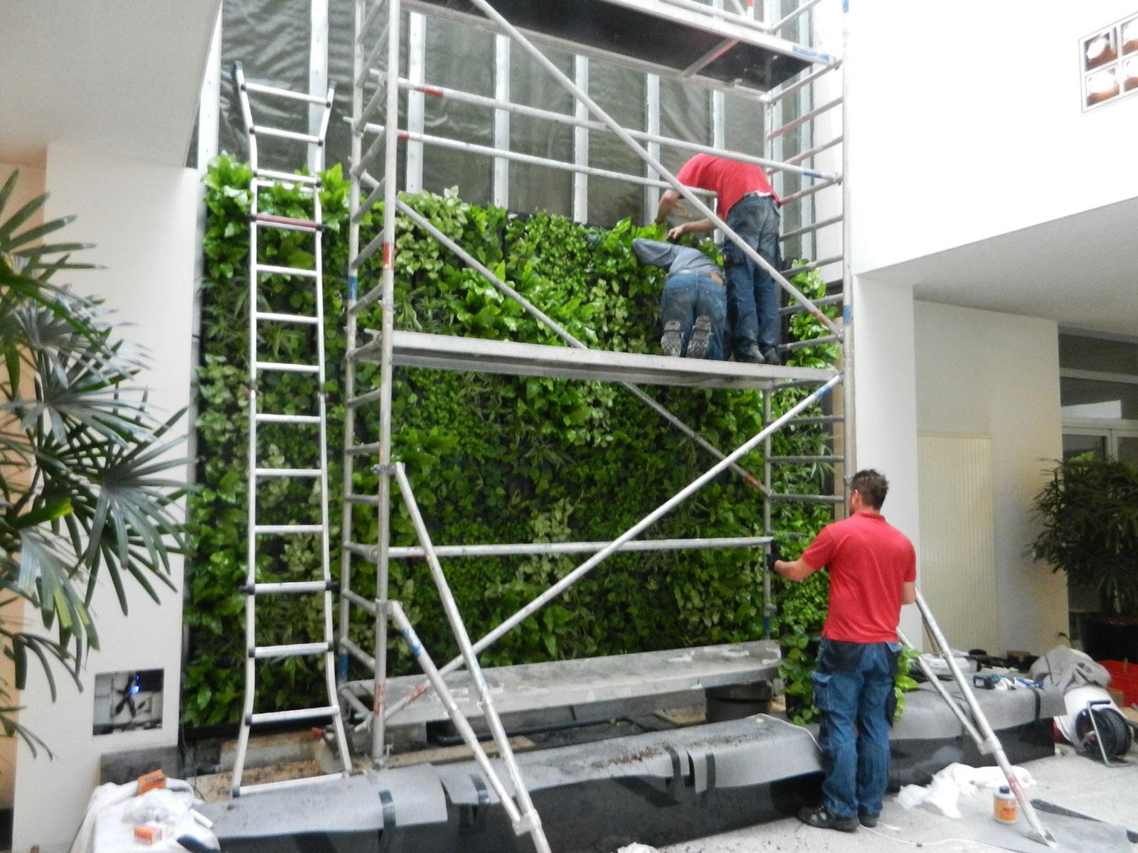 Wandbegrünung Innen Selber Machen für architektonische meisterwerke fassadenbegrünung hydroflora