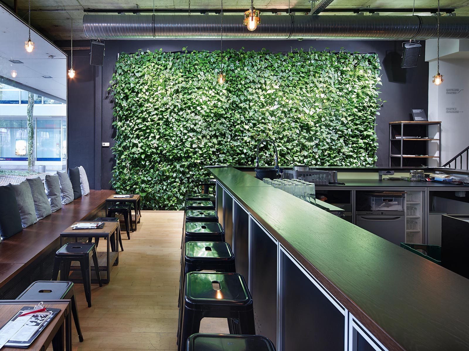 Wandbegrünung Innen Selber Machen pflanzenwände hydroflora modular variabel individuell